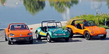 Die VW Buggys werden 40 Jahre alt