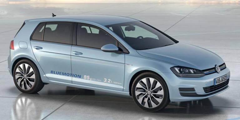 VW bringt sparsamsten Golf aller Zeiten