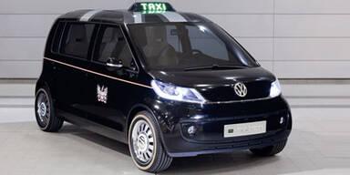 """VW präsentierte die Studie """"London Taxi"""""""