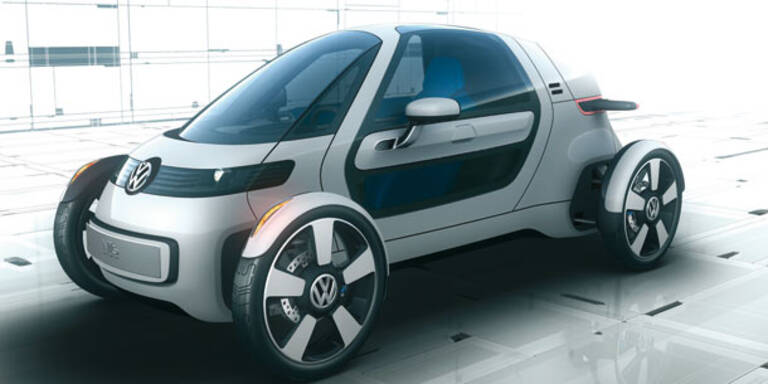 VW präsentiert den E-Einsitzer