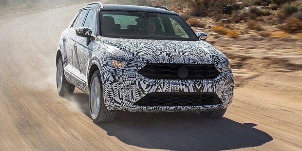 VW T-Roc: Alle Infos vom neuen Golf-SUV
