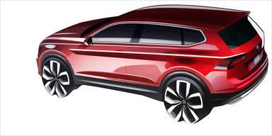 VW bringt den Tiguan Allspace