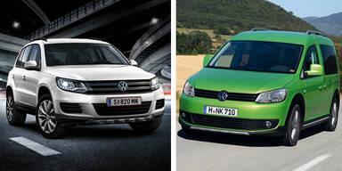 Start für VW Tiguan und Caddy Country