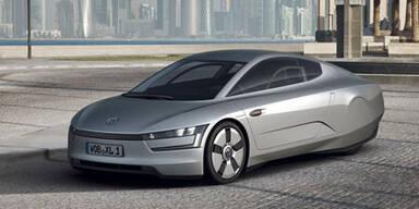 """VW präsentiert neues Einliter-Auto """" XL1"""""""