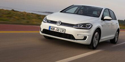 e-Golf in Österreich meistverkauftes E-Auto