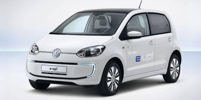 VW zeigt den fertigen Elektro-Up!
