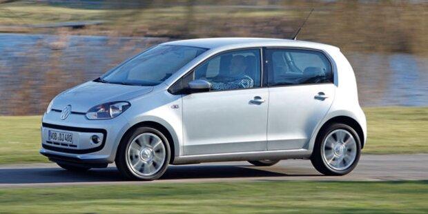 Österreich-Infos vom VW Up! mit fünf Türen
