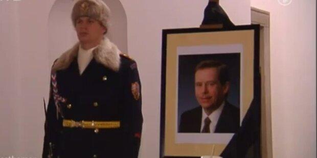 Vaclav Havel tot: Tschechien trauert