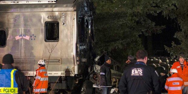 6 Tote bei Zugunglück nahe New York