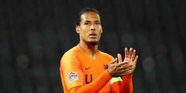 Österreich-Gegner Niederlande bei EM ohne van Dijk