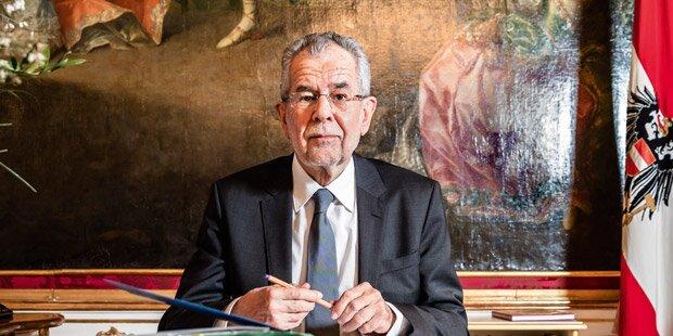Van der Bellen im ersten Interview als Präsident