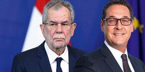 Bundespräsident zitiert Strache in die Hofburg