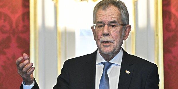 Koalition: Opposition appelliert an VdB