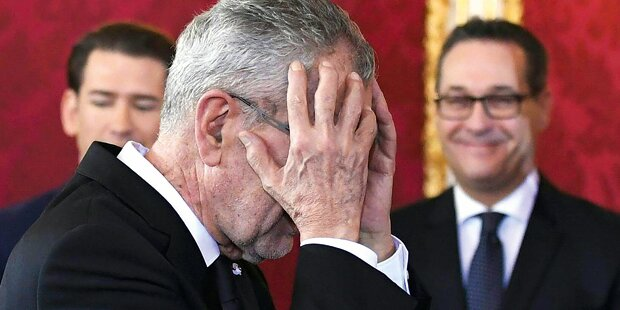 Van der Bellen weiter unter FPÖ-Beschuss