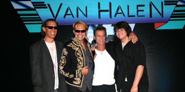 Van Halen rockt im neuen Video