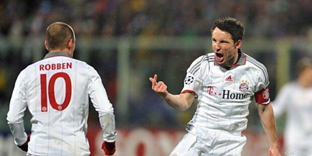 FC Bayern trotz Niederlage im Hoch