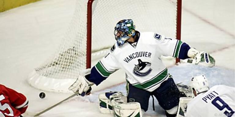 Vancouvers Stargoalie Luongo kassierte fünf Tore