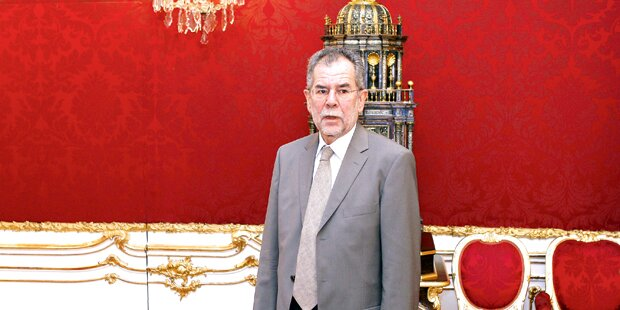 Van der Bellen: Bahn frei für die Hofburg?