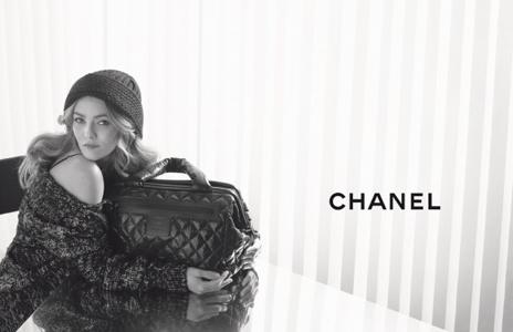 Vanessa Paradis für Coco Chanel Cocoon Bag