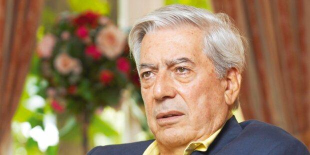 Vargas Llosa liest in Wr. Fernwärme
