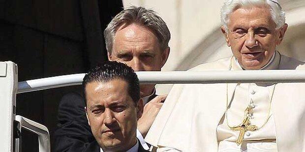 Kammerdiener stahl Papst 100.000 Euro
