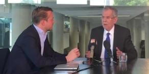 oe24-Interview mit Alexander van der Bellen