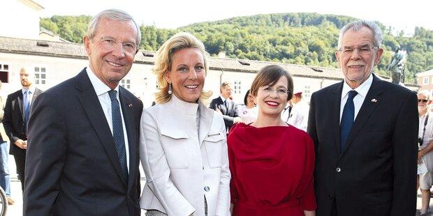 So strahlend sind die Salzburger Festspiele