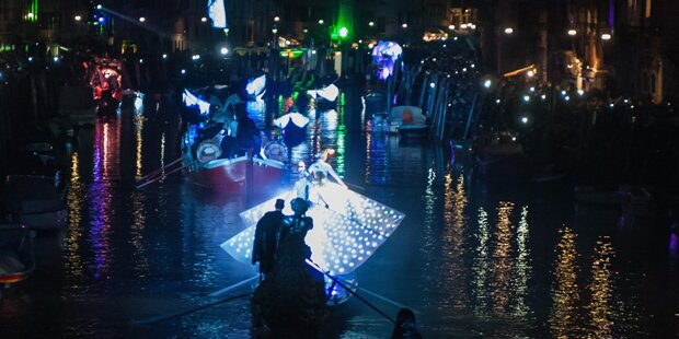 Meereskönigin eröffnete Karneval von Venedig