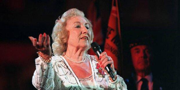 Weltkriegs-Ikone Vera Lynn mit neuem Album