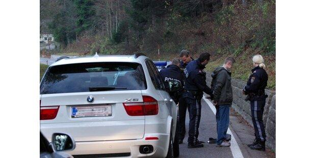 Auto-Knacker nach Wildwest-Verfolgungsjagd verhaftet