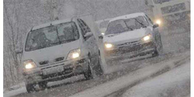 Wetter führt zu Chaos in Kärnten