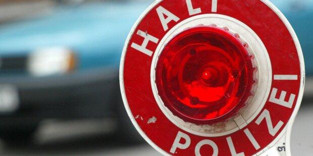 Polizei stoppt illegales Straßenrennen