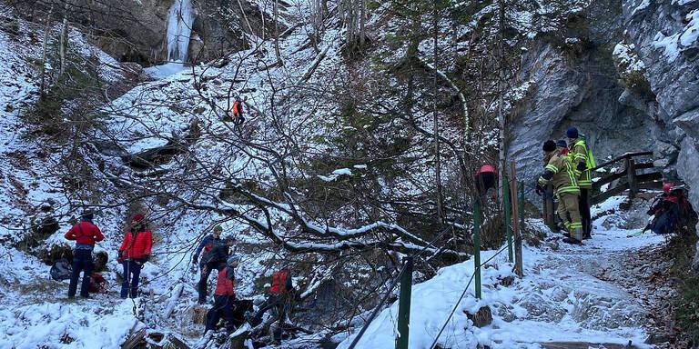 Vermisster Pater tot in Tiroler Klamm entdeckt