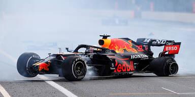 Reifen-Platzer: Pirelli kostet Verstappen den Sieg