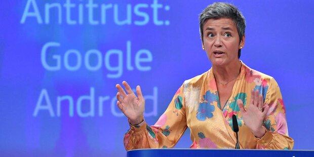 Google will neue Rekordstrafe anfechten