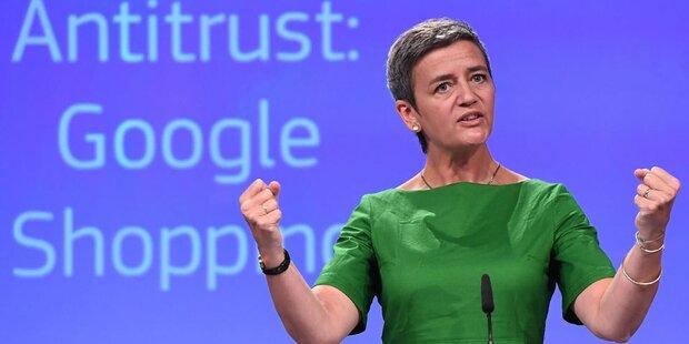 So erklärt die EU Googles Rekordstrafe