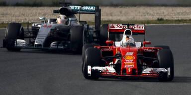 Vettel bei ersten Testfahrten voran
