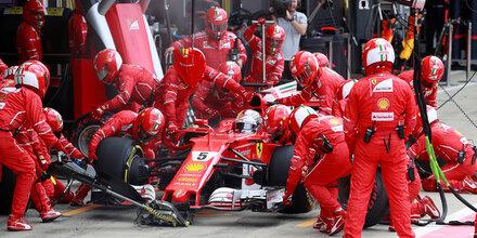 """Vettel: """"Gibt keinen Grund zur Panik"""""""