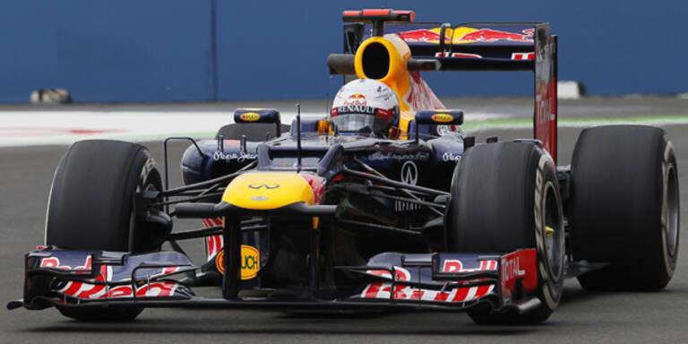 Vettel peilt nach Bestzeit den Hattrick an