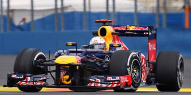 Vettel gibt Titel-Hoffnung nicht auf
