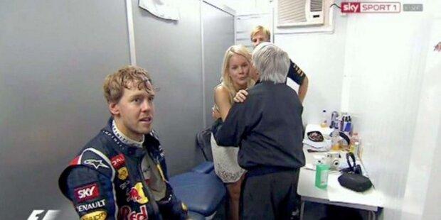 Seine Hanna machte Vettel zum Sieger
