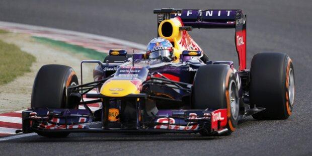 Vettel trotz Sieg in Suzuka noch nicht Weltmeister