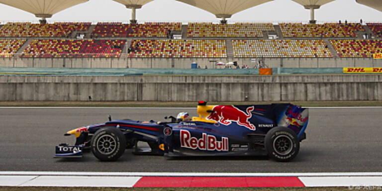 Vettel startet am Sonntag vom ersten Startplatz