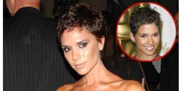 Victoria Beckhams neue Frisur ein Monat geplant
