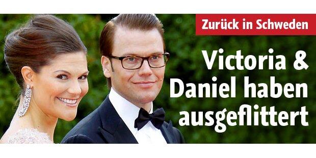 Victoria & Daniel haben ausgeflittert