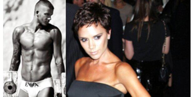Beckhams bald als heißes Unterwäsche-Doppel