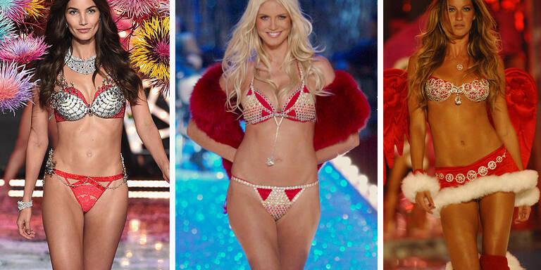 Die schönsten Victoria's Secret Fantasy Bras