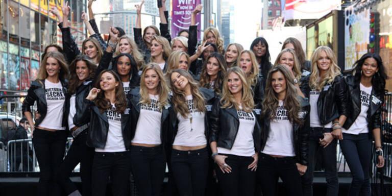Die Victoria's Secret Engel machen sich bereit