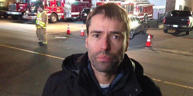 ÖSTERREICH-Reporter Herbert Bauernebel berichtet aus den USA (Feuerwehr)