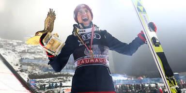 Vierschanzentournee: Kamil Stoch springt zum Sieg